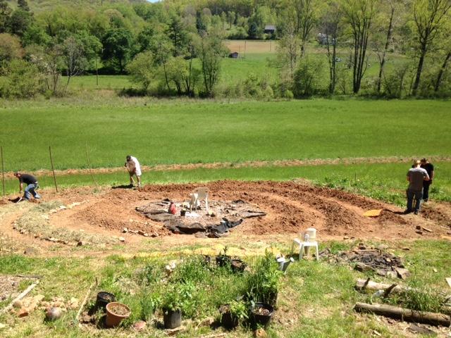 Veterans farming at Greenheart Gardens